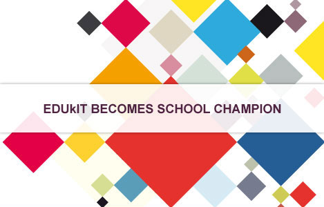 EDUkIT becomes School Champion